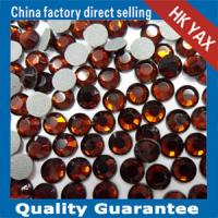 Wholesale Lead free hotfix rhinestones lead free hotfix strass brown color from china suppliers