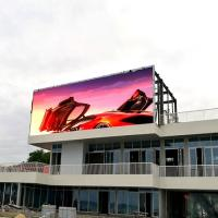 Buy cheap Good visual effect digital commercial p10 led big outdoor advertising screen from wholesalers