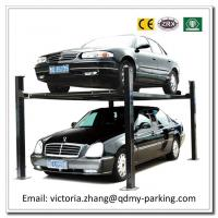 Wholesale On Sale Cheap Double Parking Car Lift Four Post Double Parking Car lLft with CE Certificat from china suppliers