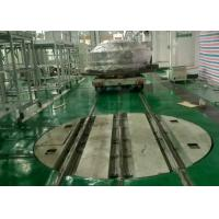 Buy cheap 20 t  380-440V AC power railway turntable attached foundation drawing from wholesalers