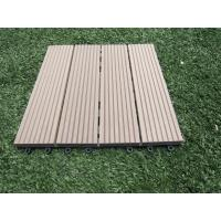 Wholesale Indoor Waterproof Artifical Turf Wood Plastic Composite Flooring for Garden and Balcony from china suppliers