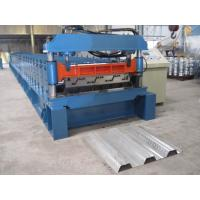 Misubishi PLC Automatic Floor Decking Roll Making Machine with CE Certificate