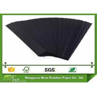 Wholesale 100% Wood Pulp Solid Two Side Coated 350gsm Black Paperboard for Hang Tags from china suppliers