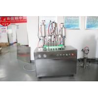 Wholesale Semi Automatic Aerosol Filling Machine Snow Spray With Glass Balls from china suppliers