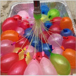 Hotselling water balloons