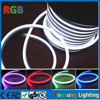 Wholesale 220V RGB  Full Color changing LED Neon Rope Flexible PVC Tube light (14*26mm) from china suppliers