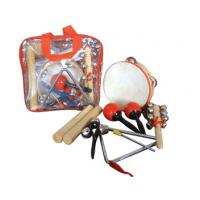 Wholesale Portable Kids Musical Instrument With Plastic Bag , 6 Pcs Wood Percussion Set from china suppliers