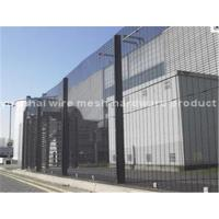 Wholesale Powder Coated Anti Climb Security Fencing , Galvanized Wire 358 Mesh Fence from china suppliers