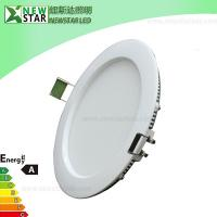 Wholesale 120x14mm 6W Round Panel Long Life span LED Light from china suppliers