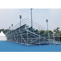 Buy cheap Aluminium Temporary Grandstand Manual Control System Low Maintenance For Rental from wholesalers