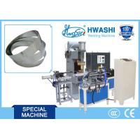 Wholesale Full Automatic Glass Lid Belt / Strip Butt Welding Machine , SS Cookware Making Machine from china suppliers