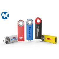 Wholesale Metal Swivel capless usb flash drive with key loop and can do laser logo from china suppliers