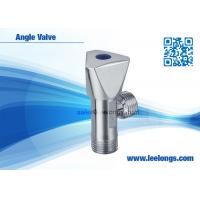 Wholesale Toilet Angle Valve Chromed Fits For Braided Hose , Faucet , Water Tap from china suppliers