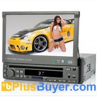 Wholesale Road Caiman - 7 Inch Touchscreen 1 DIN Car DVD Player (GPS, DVB-T, Win CE) from china suppliers