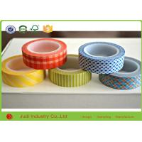 Wholesale Gravure Printing Floral Washi Tape , 38mm Core Waterproof Christmas Washi Tape from china suppliers