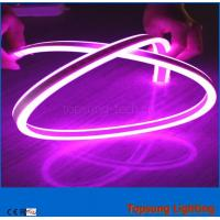Wholesale best selling 230V double sided pink led neon flexible light  for outdoor from china suppliers