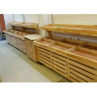 Wholesale Furniture Wooden Shelving Units Supermarket Display Gondola Wall Shelving from china suppliers