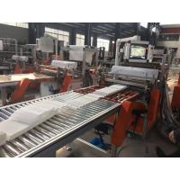 Wholesale PP  HEPA Mini Pleating and Gluing Machine , Pleating Height 20mm - 100mm from china suppliers
