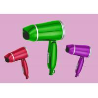 Wholesale Green Travel Blow Dryer Multi Voltage Hair Dryer Customized Printing & Logo from china suppliers