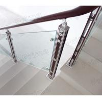 Quality inox balcony design / balcony inox railing design / glass balcony fitting for sale