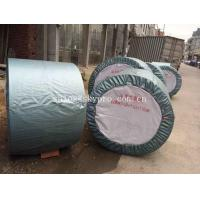 Wholesale Rubber Ribbed Nylon Conveyor Belt High Strength For Stone , Flame Resistant from china suppliers