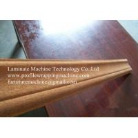Wholesale wood profile wrapping machine from china suppliers