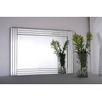 Wholesale Glass on glass mirrors Wall mirrors beveled mirror frame mirrors 90*65cm from china suppliers