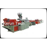 Wholesale Conduit PVC Pipe Extrusion Machine Threading Plastic Extrusion Equipment from china suppliers