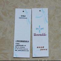 Wholesale Art paper garment hang tag ,Hang tag for fancy clothing / jeans, factory price art paper hang tag printing from china suppliers