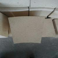 Wholesale Fan Shaped High Alumina Refractory Brick , Rotary Kiln High Temp Bricks from china suppliers