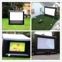 Wholesale Giant Inflatable 0.9mm PVC Cloth Customized Blow Up Movie Screen For Playground from china suppliers