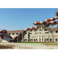 Wholesale Snake Style Adult Water Slides , Water Park Equipment For attractions from china suppliers