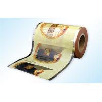 Wholesale Instant Coffee Packaging roll film , Bar Packing laminated pouch film from china suppliers