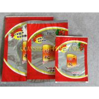 Wholesale Aluminum Foil Zipper Flexible Three Side Seal Bags With Tear Notch , Moisture Proof from china suppliers