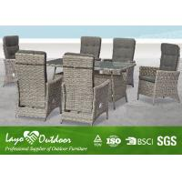 Wholesale Modern Patio Furniture Dining Sets With W64 X D67 X H105 Rectangular Table Multiple Color from china suppliers