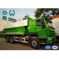 Quality Diesel Engine 10 Wheels Mining Dump Truck 6x4 With Large Loading Capacity for sale