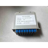 Wholesale 1 * 32 Insertion Type Fiber PLC Splitter , Cassette Type Mini PLC Fiber Optic Splitter from china suppliers