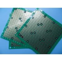 Wholesale Green FR4 Thin 0.4mm 0.5oz Copper Via In Pad PCB For Wifi Module from china suppliers