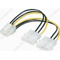 Wholesale PCI-E Plug 8pin To IDE Power Plug 4pin Molex Cable Assembly / Wire Harness Cable Assembly from china suppliers