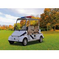 Wholesale Police 4 Seater Electric Patrol Car , Electric Security Vehicles Street Legal from china suppliers