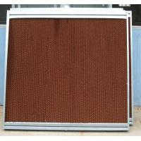 Wholesale 7090 evaporative cooling pad with aluminium alloy frame from china suppliers