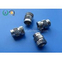 Wholesale Customized Small Metal Fasteners Stainless Steel Knurled Threaded Insert from china suppliers