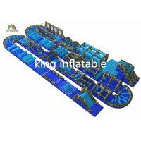 China Customized Gaint Inflatable Ostacle Course Sport Games PVC Outdoor For Adults on sale