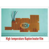 Wholesale Up to 200degC Temperature Running Heating Element Film Kapton Film Heater from china suppliers