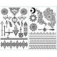 Wholesale Hand Decoration White Henna Tattoo Stickers Customized Patterns Non Permanent from china suppliers