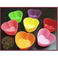 Wholesale Silicone Kitchenware, Heart Shaped Cupcake Pan, Cake Moulds, Soap Mold from china suppliers