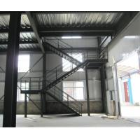 Wholesale Custom Lightweight Structural Steel Stairs Compression Resistance Rotate 180 Degrees from china suppliers