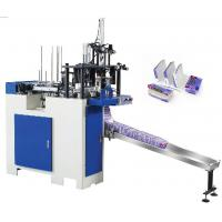 Wholesale Disposable PE Coated Paper Lunch Box Making Machine 6.5kw 55 - 60 PCS/min from china suppliers
