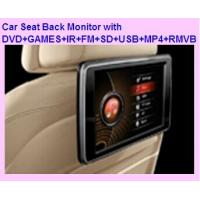 "Wholesale 10.1"" Headrest DVD Player Digital touch panel with with DVD+GAMES+IR+FM+SD+USB+MP4+RMVB from china suppliers"