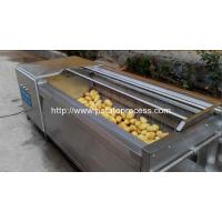 Wholesale Brush Roller Type Potato Washing Peeling Machine from china suppliers